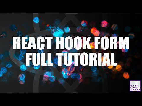 Does this library make Redux Form obsolete? | React Hook Form Tutorial | React Tutorials thumbnail