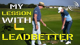MY LESSON WITH GOLF COACH LEGEND DAVID LEADBETTER | ME AND MY GOLF