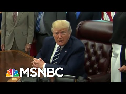 President Donald Trump Backtracks On Race-Baiting MAGA Chant | The Beat With Ari Melber | MSNBC