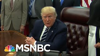 President Donald Trump Backtracks On Race-Baiting MAGA Chant | The Beat With Ari Melber | MSNBC