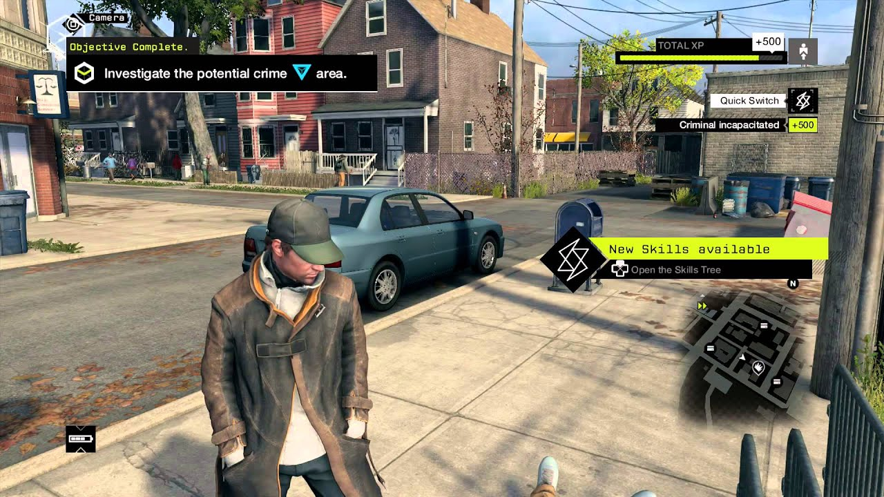 No Dvr In Watch Dogs