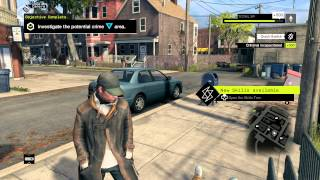 Watch Dogs - First Hour of Gameplay |  Walkthrough [PS4][1080p]