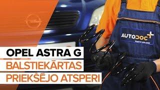 aizmugurē un priekšā Piekare montāža OPEL ASTRA: video pamācības