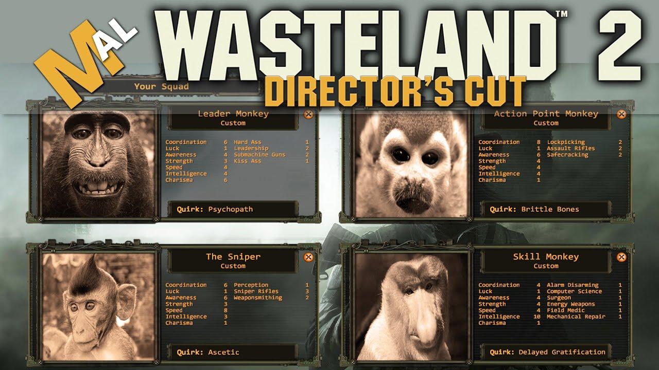 Wasteland 2 character creation maximizing potential youtube.