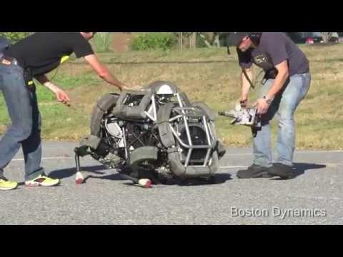 Google Aquires Military Robotic Company - Boston Dynamic - The big dog