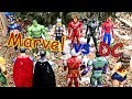 Marvel vs DC Epic Battle - Superman vs Hulk & Justice League vs Avengers Part 1