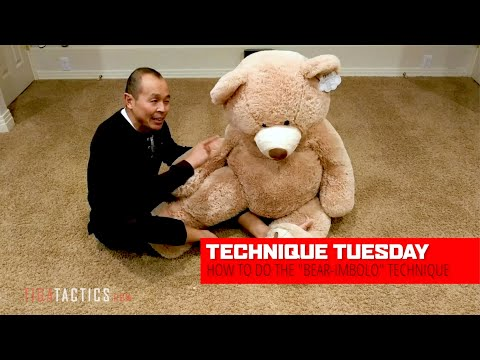 BJJ Tutorial: How to do the Berimbolo ... on a bear!