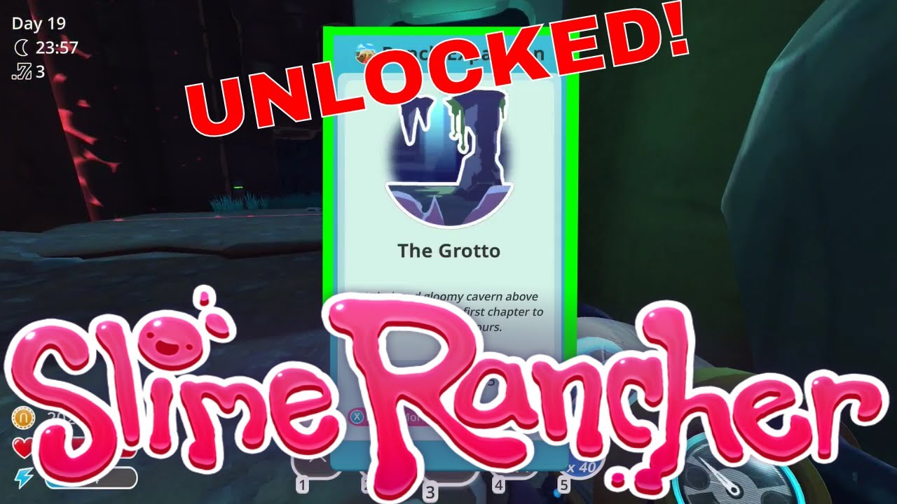 The Grotto New Location Slime Rancher Episode 12 Youtube