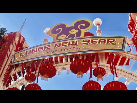 Opening Day of Disney's Lunar New Year Celebration 2019 - Disney California Adventure