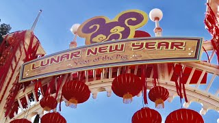 Opening Day of Disney's Lunar New Year Celebration 2019 - Disney California Adventure
