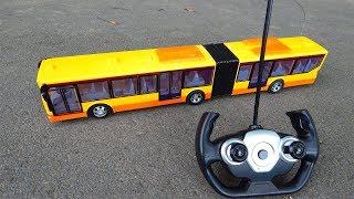 Автобус на пульте Обзор игрушек машинок Видео для детей про машинки игрушки