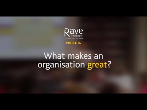 What Makes an Organisation Great?