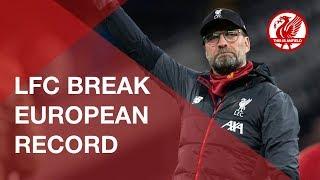 Liverpool set new European record