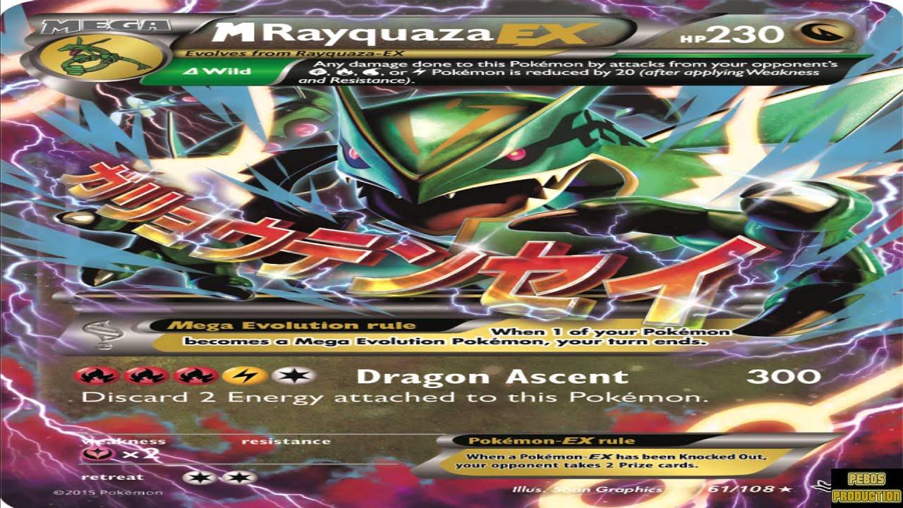 Op Mega Rayquaza Ex 300 Damage Announced Youtube