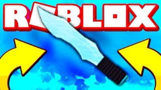 THE SMALLEST KNIFE IN ROBLOX MURDER MYSTERY 2!!