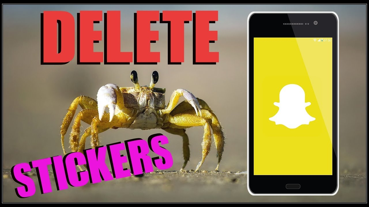 How To Delete Snapchat Stickers On Iphone Or Android 2017