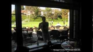 Glass Restoration - Pitted Glass Repair - Big Canyon Country Club - Newport Beach, California