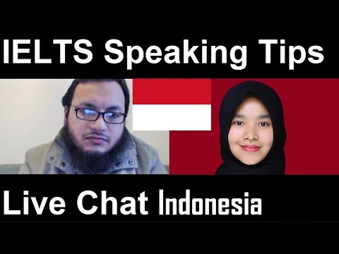 IELTS Speaking Tips Live Chat Tuition Indonesia Test Samples Band SYED 8