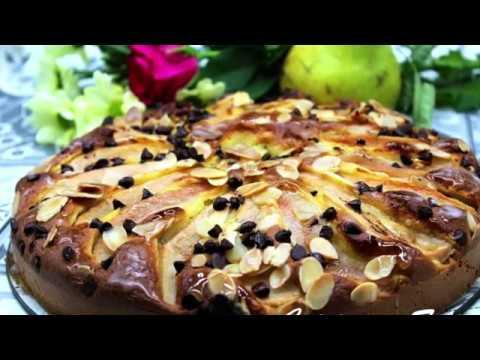 gâteau-poire-chocolat