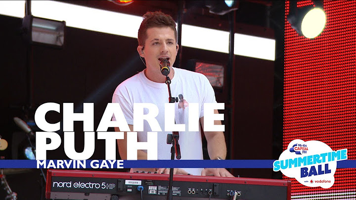 charlie puth  marvin gaye  live at capitals summertime ball 2017