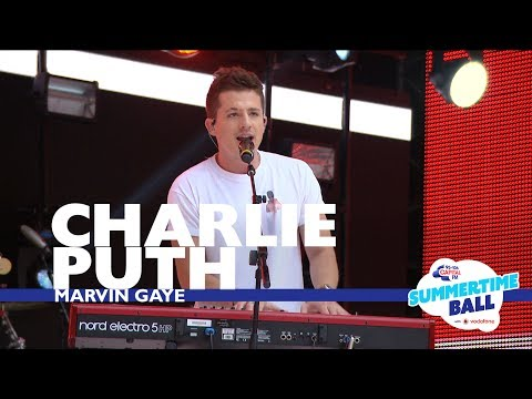 Charlie Puth - 'Marvin Gaye'  (Live At Capital's Summertime Ball 2017)