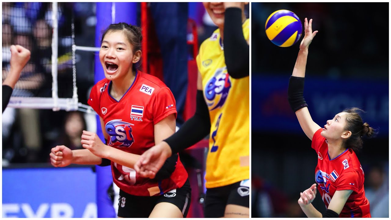 Chatchu-On Moksri - 20 Years Old Young Super Talented Volleyball Player (HD)