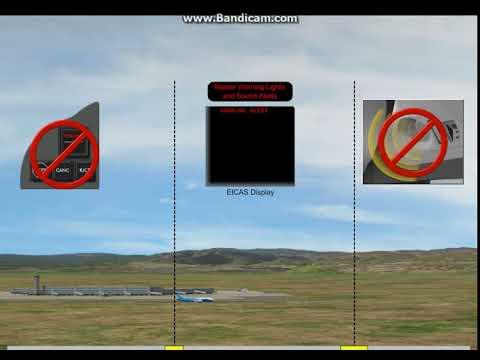Crew Alerting System -  EICAS (Crew Alerting System Inhibits)
