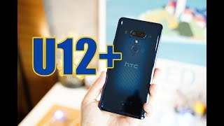 แกะกล่อง รีวิว HTC U12+ บีบบีบ ใสใส เห็นเนื้อในสวยๆ