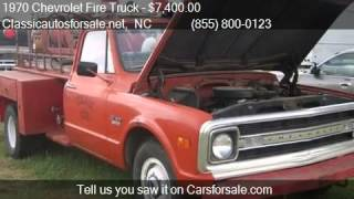 1970 Chevrolet Fire Truck  for sale in Nationwide, NC 27603 #VNclassics
