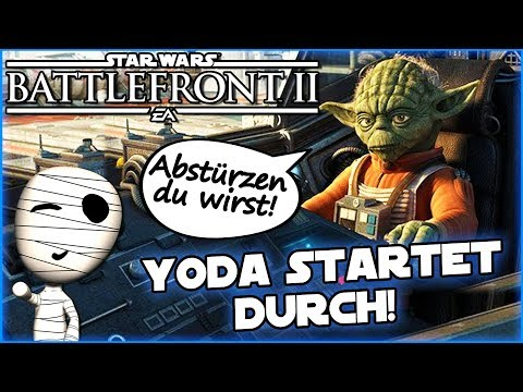 Yoda startet durch! - Star Wars Battlefront II #127 - Lets Play Commentary HD deutsch Tombie