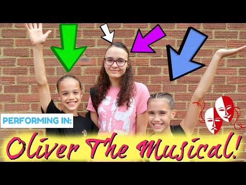 PERFORMING IN OLIVER THE MUSICAL!!! #89 VLOG