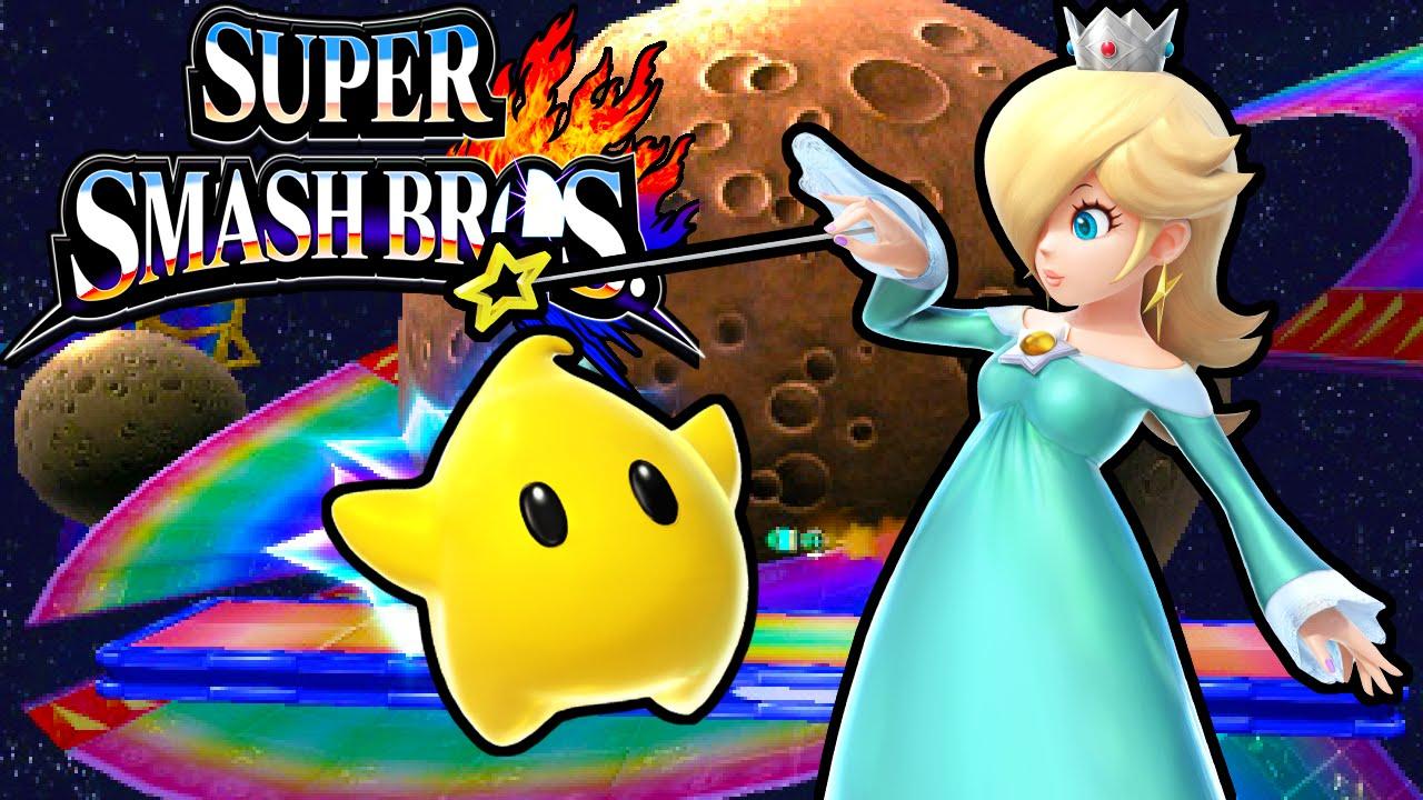 Download Super Smash Bros 4 3DS: Rosalina & Luma! New Character Gameplay Walkthrough Nintendo PART 15