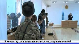 В Кокшетау осуждены насильники несовершеннолетней