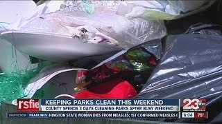 County Parks and Rec urging residents to keep parks clean during 4th of July weekend