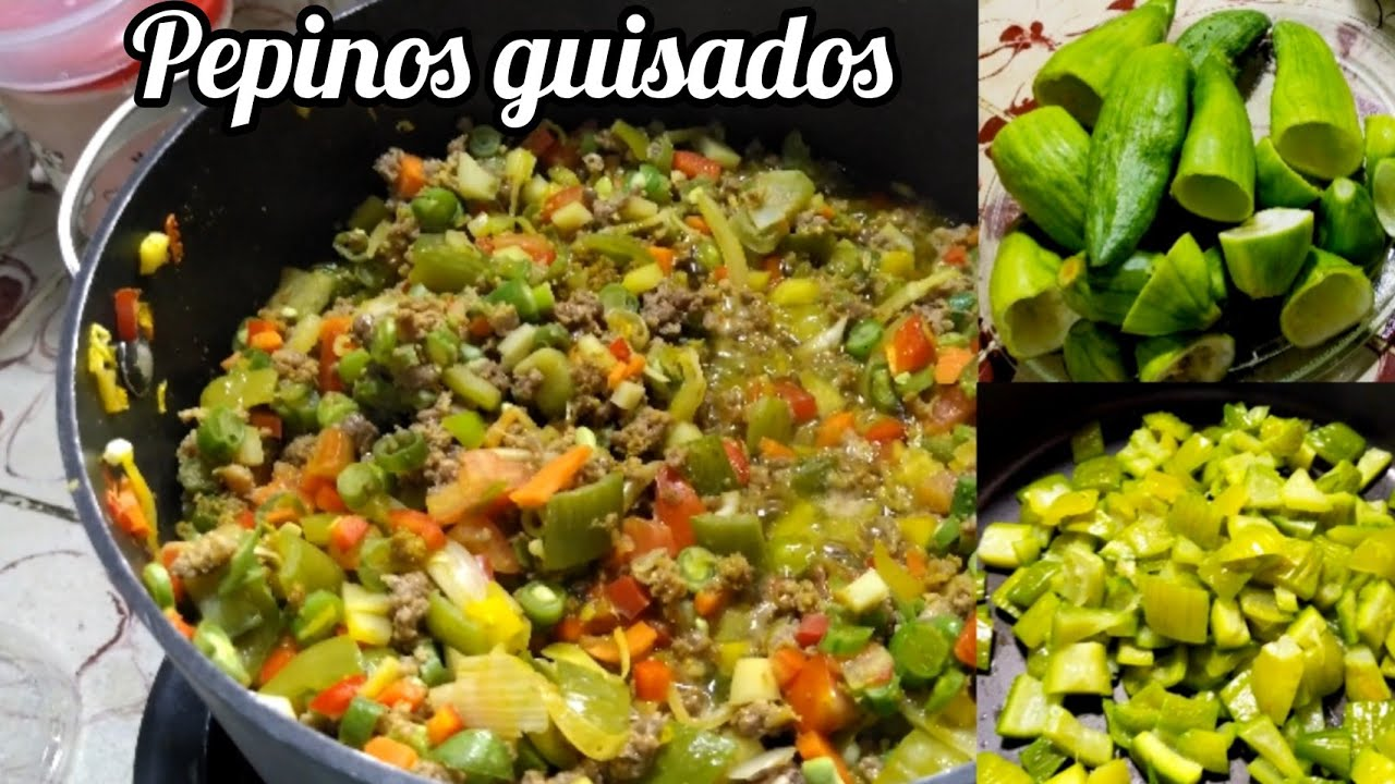 Download Deliciosos pepinos guisados fácil y rapido.