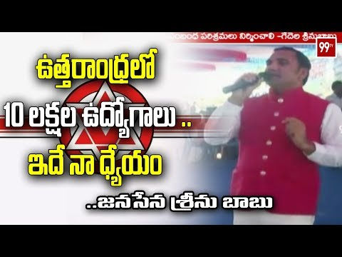 Janasena Coordinator Srinubabu Demands Govt for Food Related Industries   Srikakulam   99TV Telugu