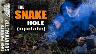 The Snake Hole (update) - one minute survival tip