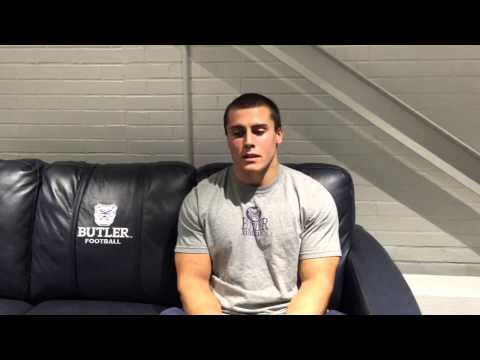 Bulldog Minute: Linebacker Sean Horan Previews Campbell - Sept. 26, 2015