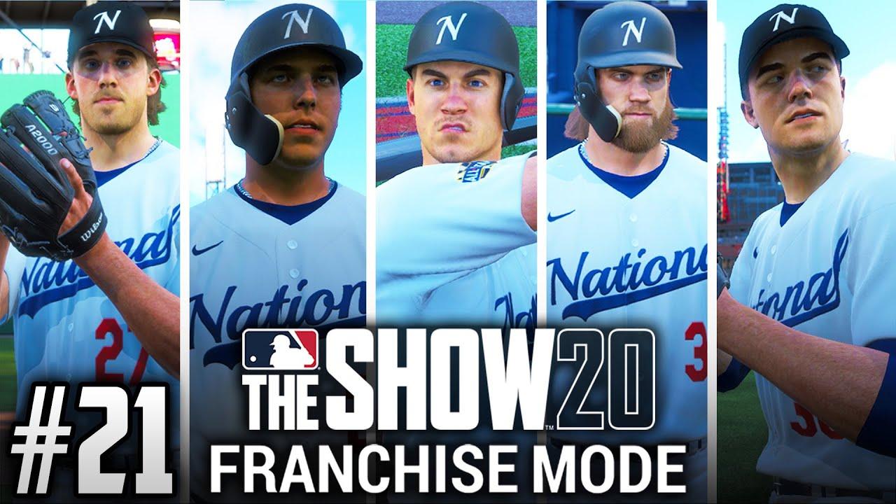 MLB The Show 20 Franchise Mode | Philadelphia Phillies | EP21 | 5 ALL-STARS (S2)