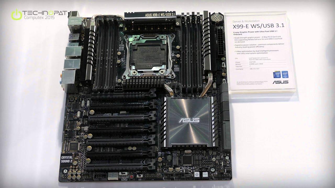 Asus X99, i BIOS con supporto alle CPU Intel Broadwell-E ...