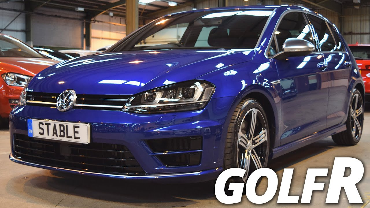 2016 Volkswagen Golf R Walk Around Lapiz Blue