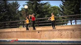 LATINO DANCE AEROBIK SO KATE I SPORT DANCE NOVA POKRAJ PREKRASNIOT BAZEN NA HOTEL SILEKS-OHRID
