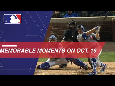 The top moments in baseball history from October 19