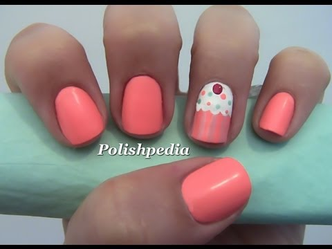 - Cupcake Nail Art - YouTube