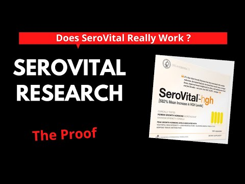 SeroVital HGH Review: Does It Really Work? Research And