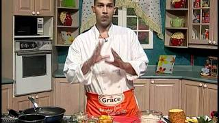 Shrimp With Pineapple & Coconut Curried Rice - Grace Foods Creative Cooking Chef Series