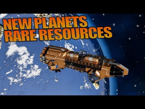 NEW PLANETS RARE RESOURCES | Empyrion: Galactic Survival | Let's Play Gameplay | S12E18