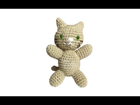 Lindos efofos | Patrón de ganchillo gato, Ganchillo bonito ... | 360x480