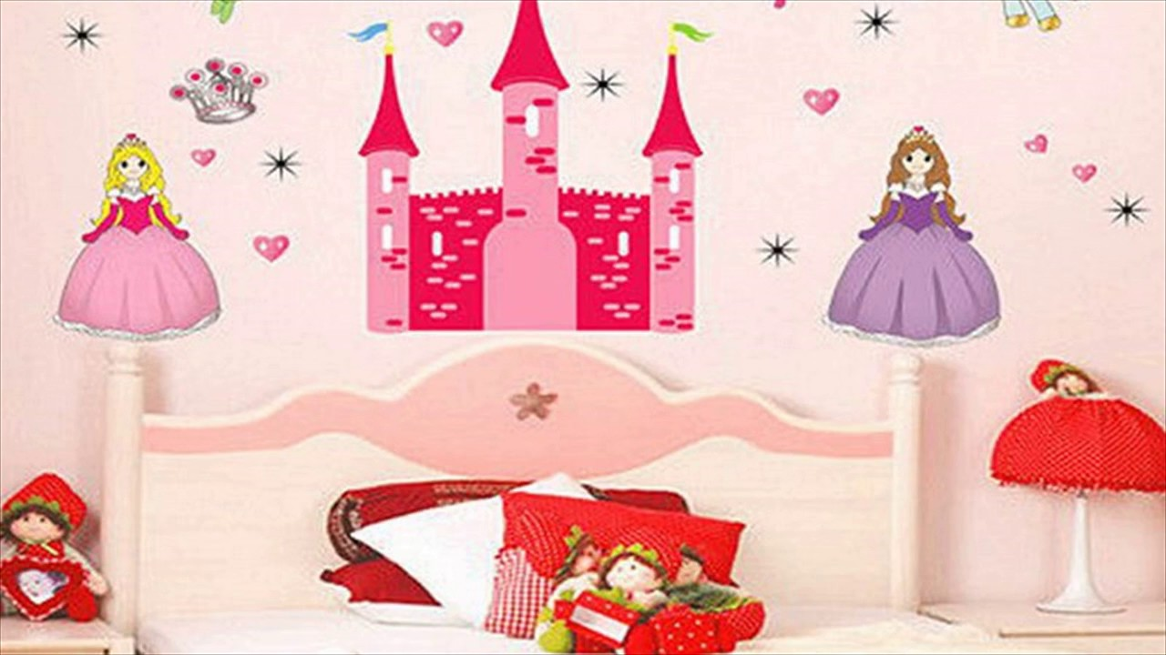 princess bedroom wall stickers for kids youtube princess bedroom wall stickers for kids