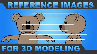 How to Draw Reference Images for 3d Character Modeling - Mr. H